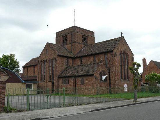 Church of St. George and St. Ethelbert the Martyr in East Ham, London