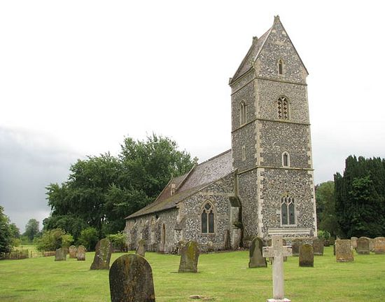 St. Ethelbert's Church in East Wretham, Norfolk