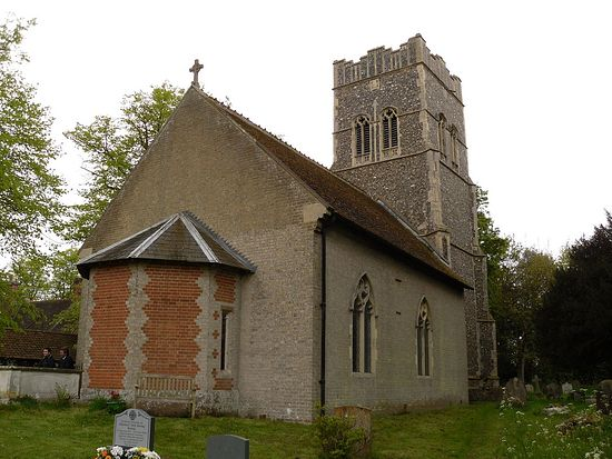 St. Ethelbert's Church in Falkenham, Suffolk. Photo by Irina Lapa