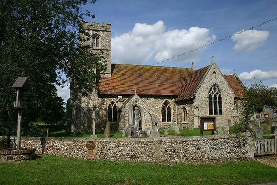 St. Ethelbert's Church in Herringswell, Suffolk