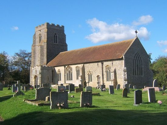 St. Ethelbert's Church in Tannington, Suffolk