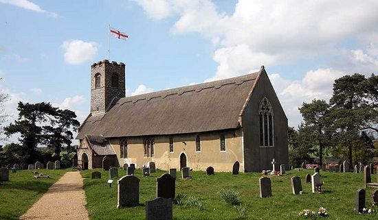 St. Ethelbert's Church in Thurton, Norfolk