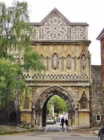 St. Ethelbert's Gates near Norwich Cathedral