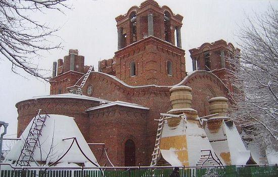 Изградња Храма Свете Тројице у Ростову на Дону