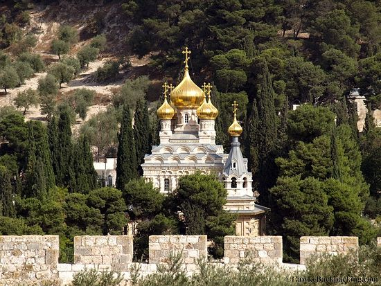 The Monastery of St. Mary Magdalene.