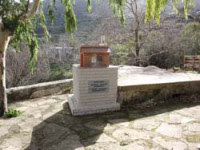 The grave of Archimandrite Eleutherios (Lefteris) Noufrakis