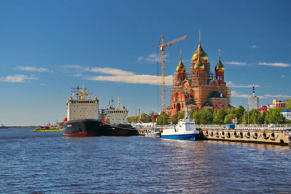 Начался Первосвятительский визит Святейшего Патриарха Кирилла в Архангельскую митрополию