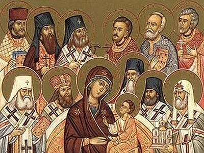 On the Sunday of All Saints of America