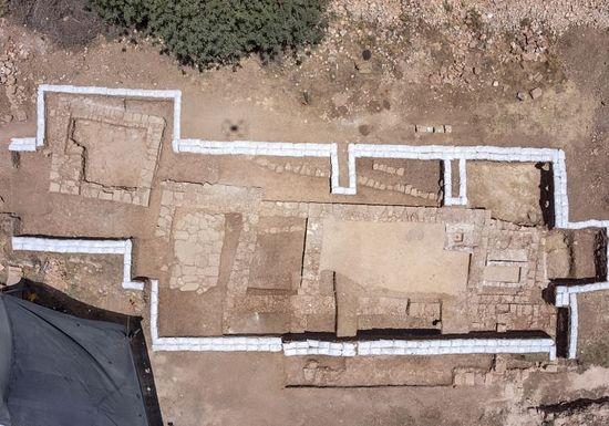 Руины 1500-летнего храма подле Иерусалима