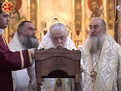 Патриарх Илия II: Зоопарк был создан ценой колоколов. Но ни один грех не остается безнаказанным