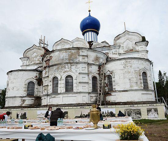 Успенский храм Иоанно-Богословского женского монастыря.