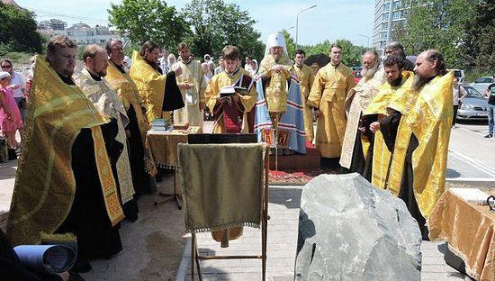 В Севастополе заложили новый храм в честь Всех святых, в земле Российской просиявших