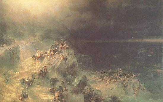 Noah's Flood. I. Aivazovsky, 1864