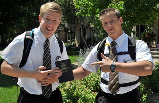 Мормонские проповедники