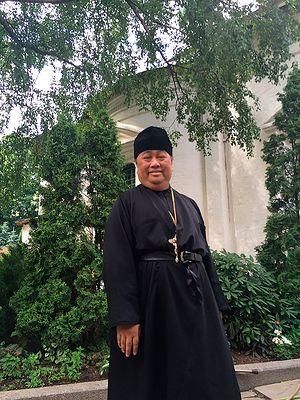 Archimandrite Daniel Byantoro at Sretenksy Monastery