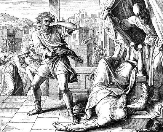 Смерть Илия. Юлиус Шнорр фон Карольсфельд
