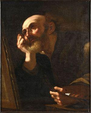 Saint Luc. Girolamo Troppa