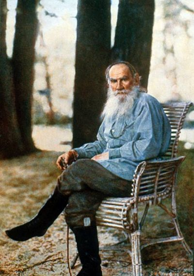'War and Peace' author Leo Tolstoy - 1908
