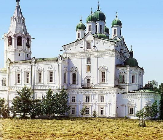Assumption Cathedral in the Dalmatov Monastery - 1912