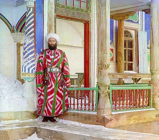 Bukharan bureaucrat - between 1909-1915