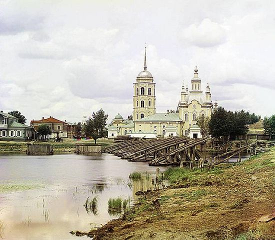 Cathedral in Shadrinsk - 1912