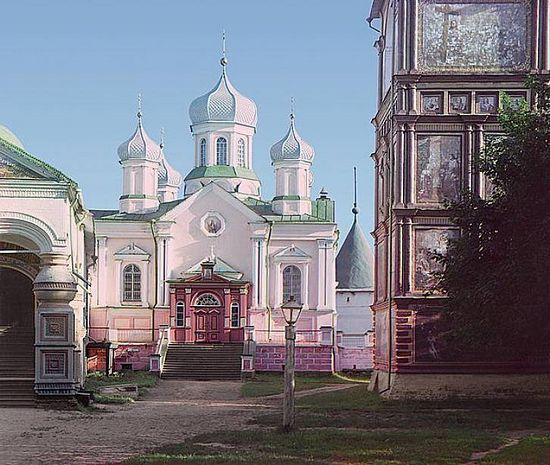 Cathedral of the Nativity of the Mother of God at the Ipatevsky Monastery - 1910
