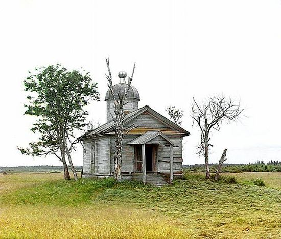 Chapel where the city of Belozersk was founded in ancient times - 1909