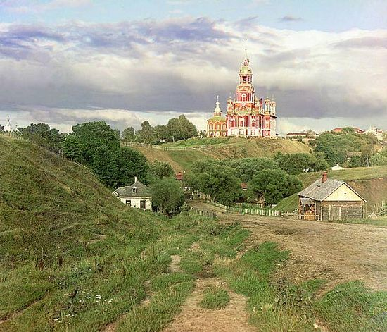 View of Nikolaevsky Cathedral from the southwest - 1911