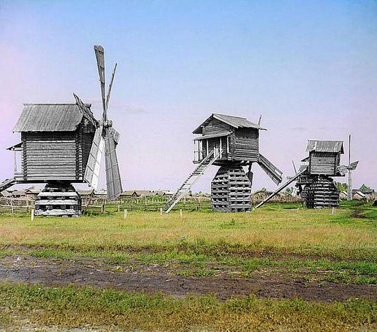 Mills in Tobolsk Province - 1912