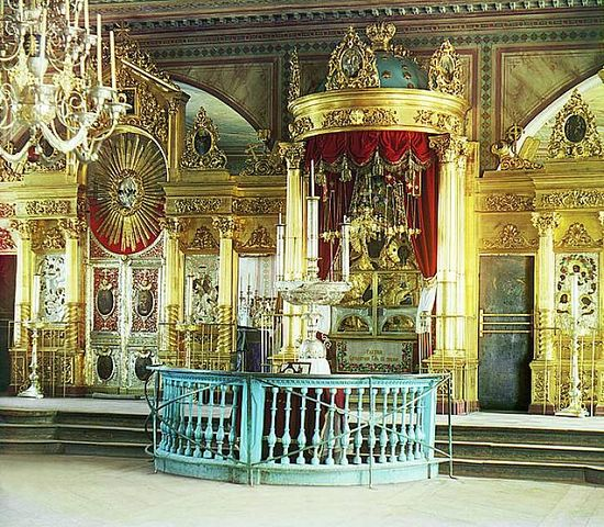Mother of God-Odigitria in the Church of the Assumption of the Virgin in Smolensk - 1912