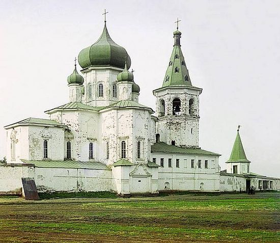 Trinity monastery in the city of Tumen - 1912