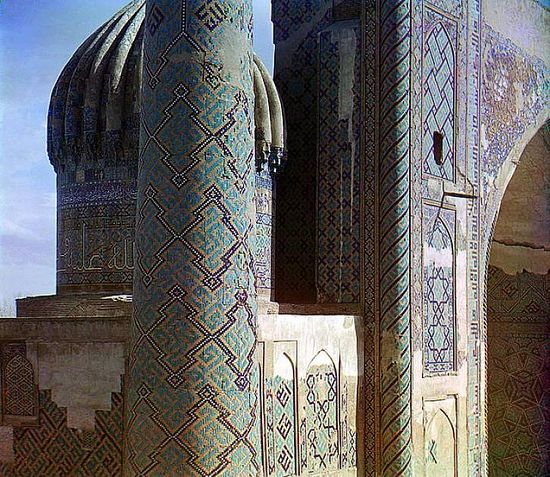 Shir-Dar madrasa in Samarqand - between 1909-1915