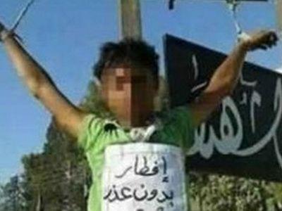В ИГ распяли двоих детей за «несоблюдение поста»