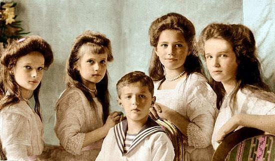 The children of the last Royal family
