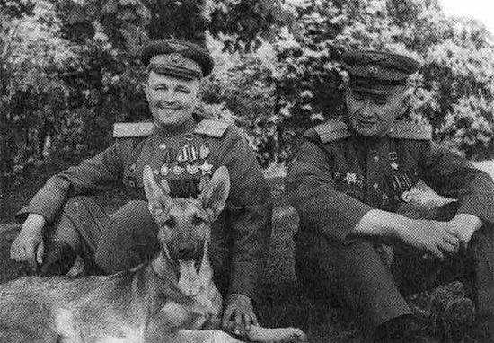 Михаил Лусто, Евгений Мариинский и собака Джульбарс