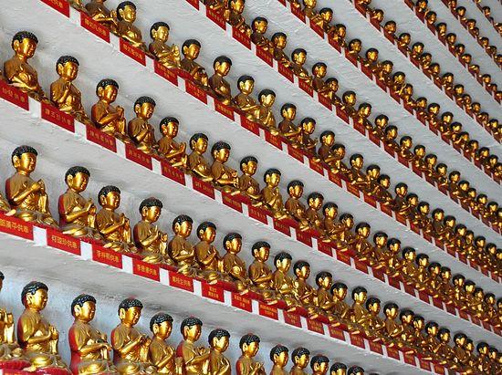 Монастырь десяти тысяч будд, Гонконг
