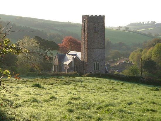 St. Nectan's Church in Ashcombe, Devon