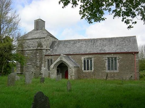 St. Nectan's Church in St Winnow, Cornwall