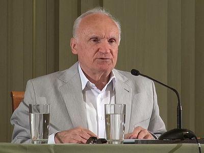 Профессор А.И. Осипов в Сретенской духовной семинарии 19 июня 2015 г.