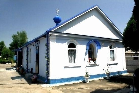 Единственный храм Баксана - церковь Покрова Пресвятой Богородицы