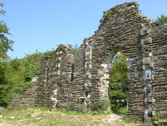 Ruins of an ancient Christian church of Agyghes