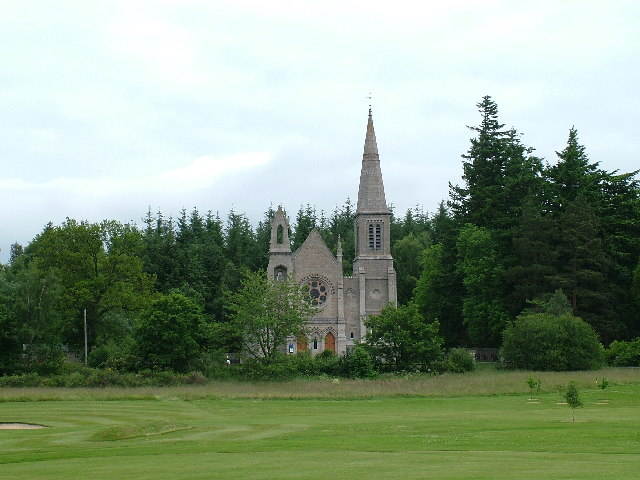St. Moluog's Church in Tarland, Aberdeenshire