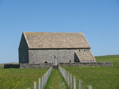 St. Moluog's Church in Eoropie, Lewis and Harris