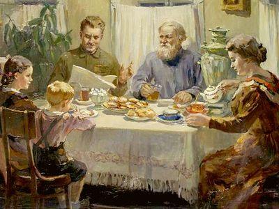 Ужинайте вместе