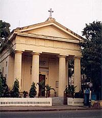 Храм Преображения Господня в Калькутте