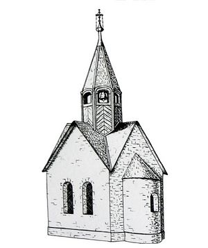Так могла выглядеть русская церковь