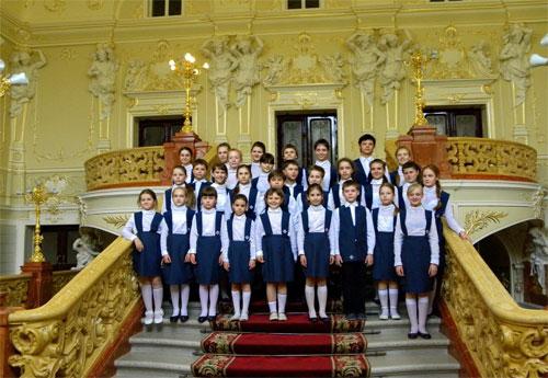 Детский хор Киево-Печерской Лавры