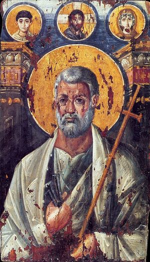 Апостол Петр. Синайская икона