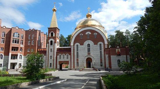 Народный храм - храм целителя Пантелеимона в Екатеринбурге