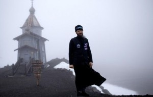 Father Sophrony Kirilov at the Southernmost Church in the World